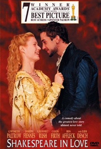 Movie Filter - Shakespeare in Love - Date: 11/1/2003