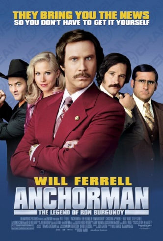 Movie Filter - Anchorman- The Legend of Ron Burgundy - Date: 12/28/2004