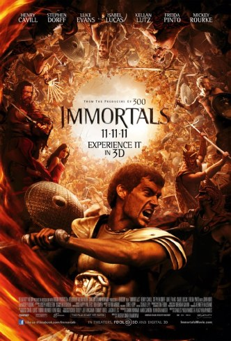 Movie Filter - Immortals - Date: 3/6/2012