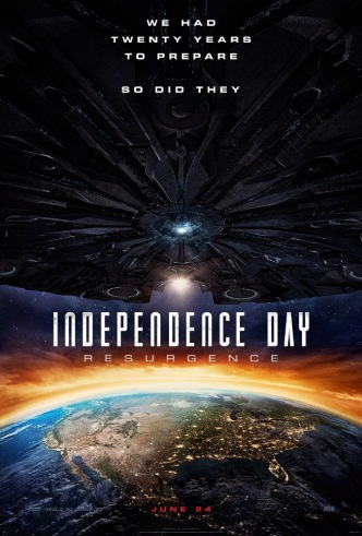 Movie Filter - Independence Day: Resurgence - Date: 10/14/2016