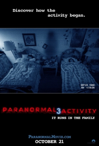 Movie Filter - Paranormal Activity 3 - Date: 1/26/2012