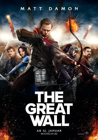 Movie Filter - The Great Wall - Date: 5/23/2017