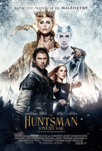 Movie Filter - The Huntsman: Winter`s War - Date: 8/23/2016