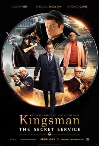 Movie Filter - Kingsman: The Secret Service - Date: 6/19/2015