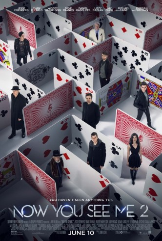 Movie Filter - Now You See Me 2 - Date: 9/7/2016
