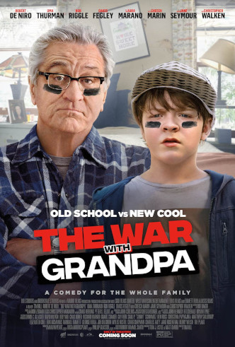 Movie Filter - The War with Grandpa - Date: 1/28/2021