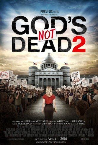 Movie Filter - God`s Not Dead 2 - Date: 8/9/2016