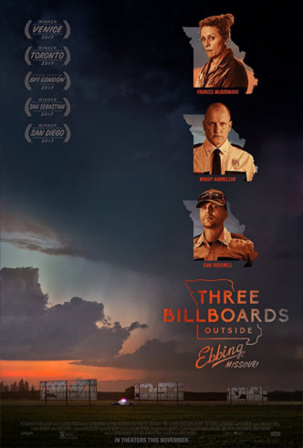 Movie Filter - Three Billboards Outside Ebbing, Missouri - Date: 2/27/2018