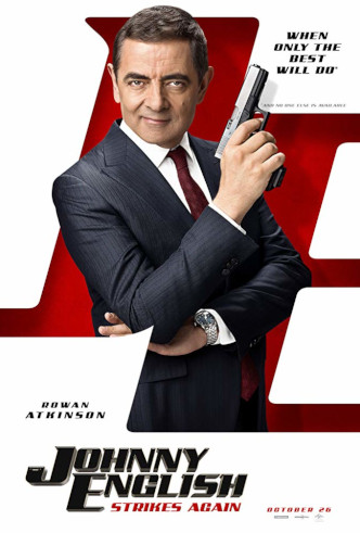 Movie Filter - Johnny English Strikes Again - Date: 1/22/2019