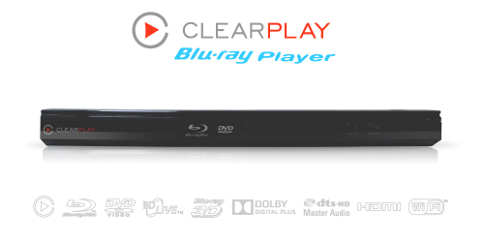 ClearPlay Blu-Ray Player-CP1126, Blu-ray