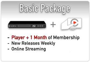 Blu-ray Player with One Month